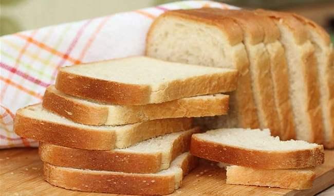 ब्रेड Bread high calories food in hindi