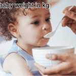 normal baby weight in kg