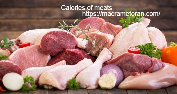 Calories of meats